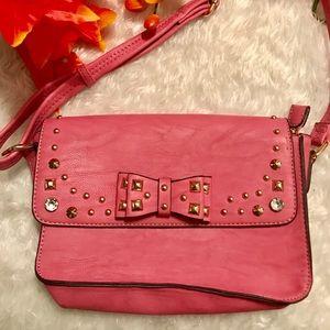 Charming Charlie Studded Bag